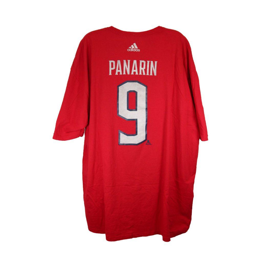 Columbus Blue Jackets, PANARIN #9, Adidas Go-To Tee