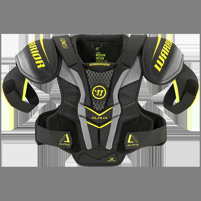 Warrior Alpha QX3 Sr, hartiasuojat