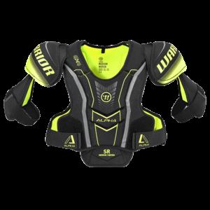 Warrior Alpha QX4 Sr, hartiasuojat
