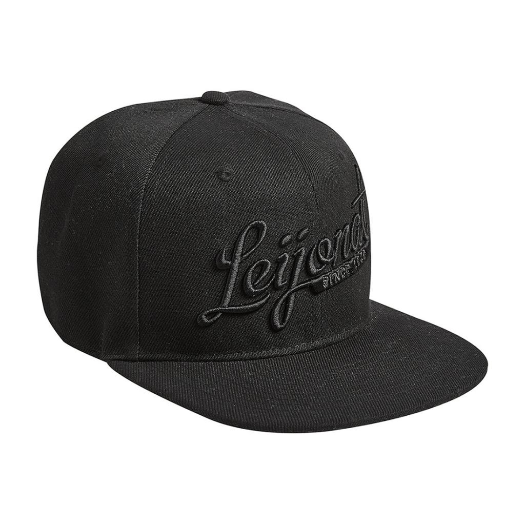 Leijonat Crew Cap All Black