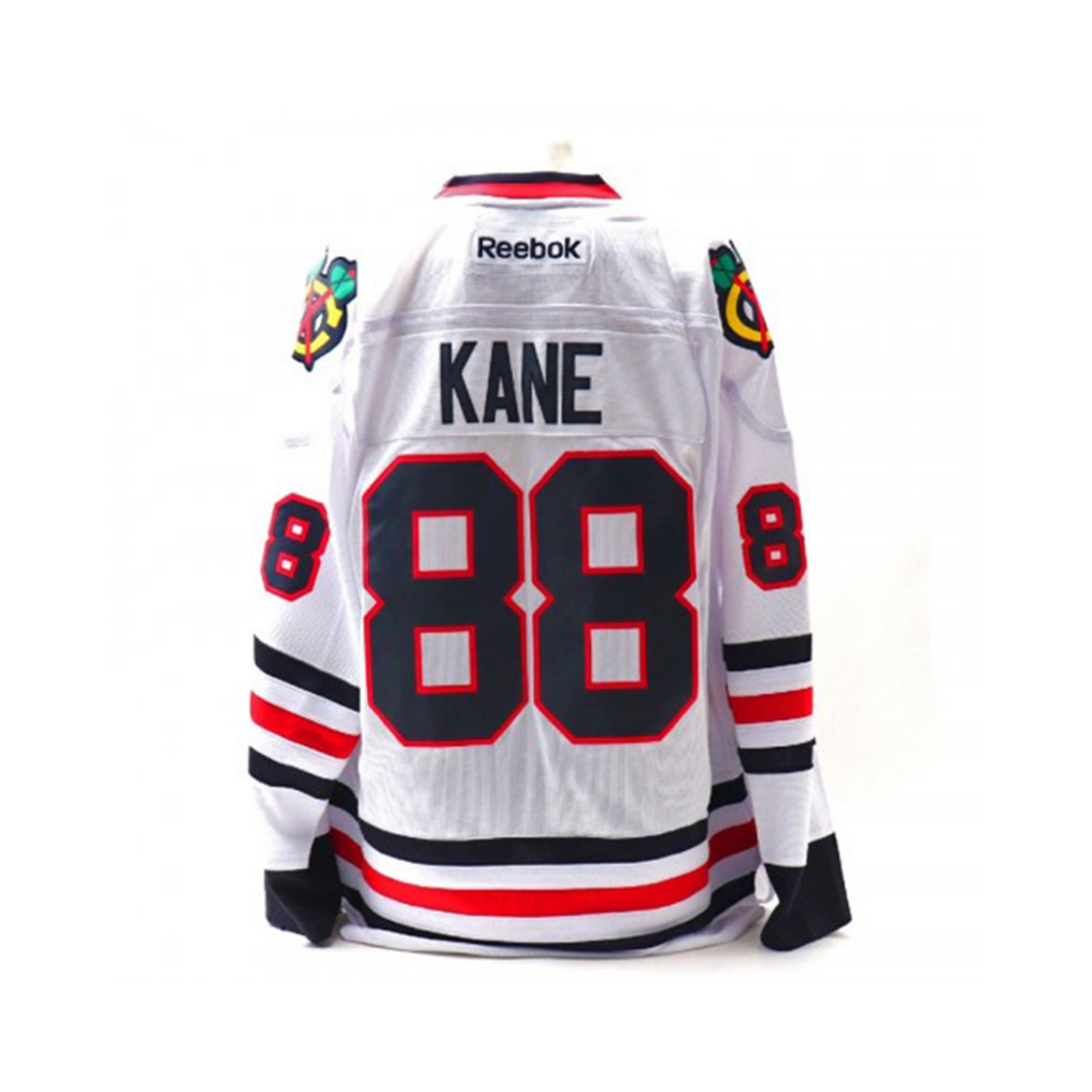 Chicago Blackhawks, #88 KANE, valkoinen