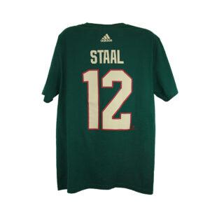 Minnesota Wild, STAAL #12, Adidas Authentic Go-To Tee