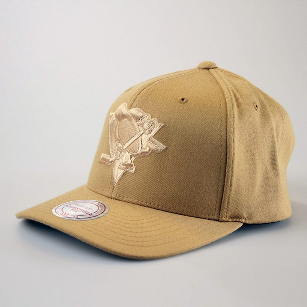 Mitchell & Ness Pittsburgh Penguins Curved Flex, beige