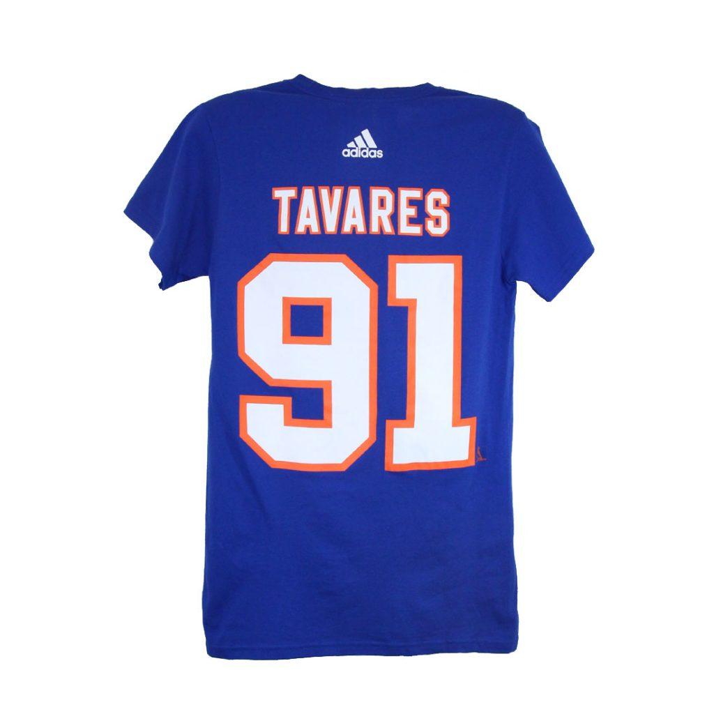 New York Islanders, TAVARES #91, Adidas Authentic Go-To Tee