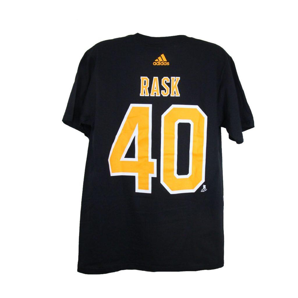 Boston Bruins, RASK #40, Adidas Authentic Go-To Tee