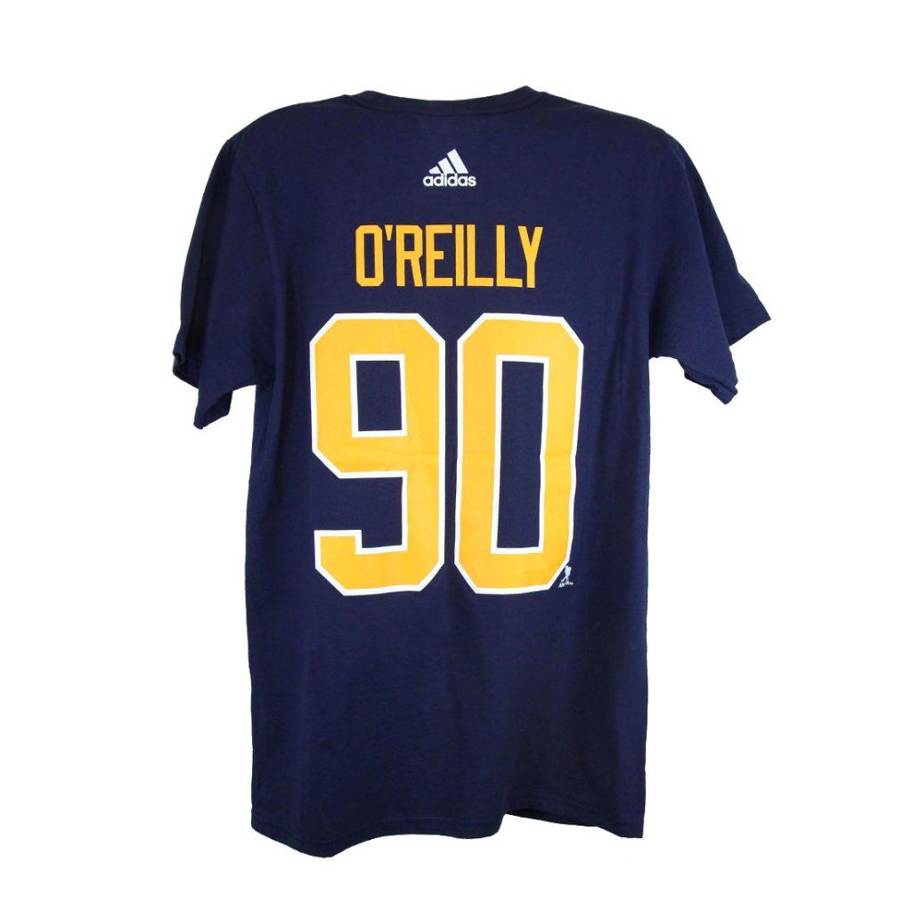 Buffalo Sabres, O'REILLY #90, Adidas Authentic Go-To Tee