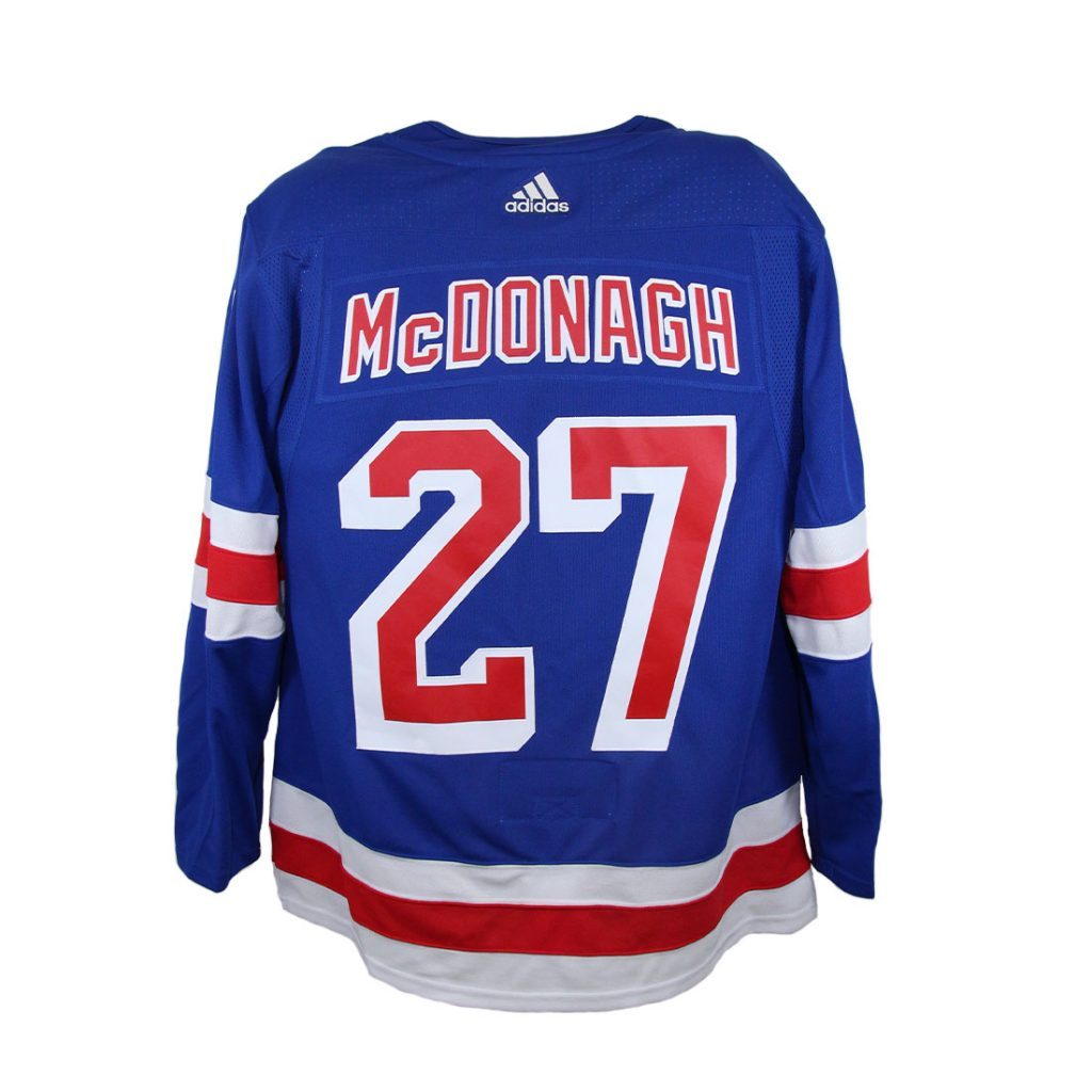 New York Rangers, #27 McDONAGH, Adidas Authentic Jersey