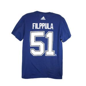 Tampa Bay Lightning, FILPPULA #51, Adidas Authentic Go-To Tee