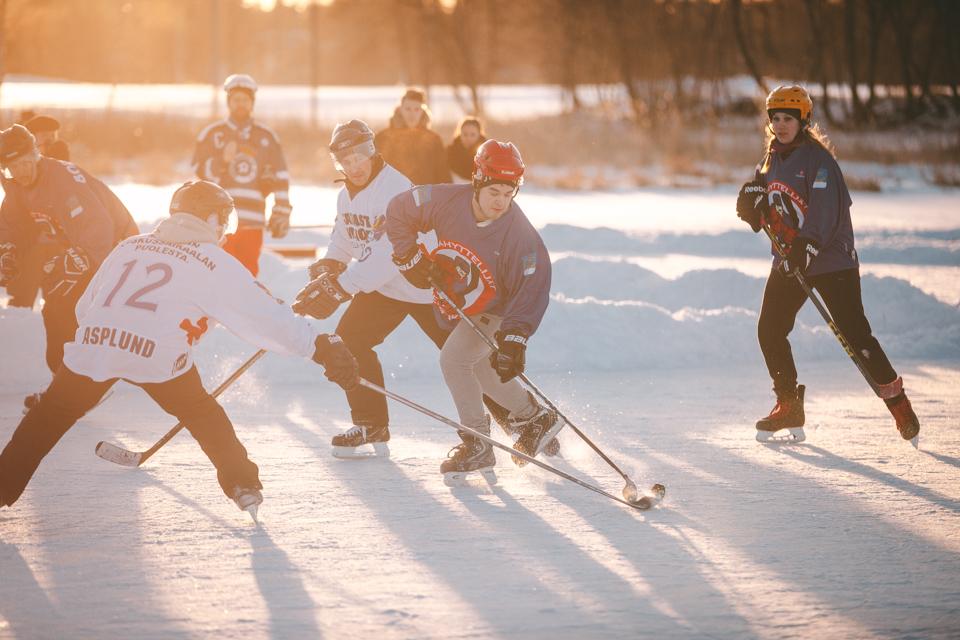 Save Pond Hockey, Saimaa, Mikkeli