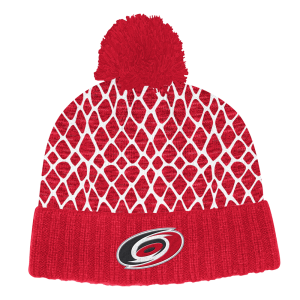 NHL-Tupspipo Carolina Hurricanes, Adidas Culture Cuffed Knit Pom