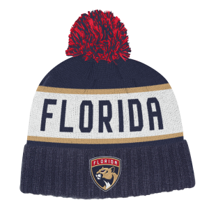 NHL-Tupsupipo Florida Panthers, Adidas Culture Cuffed Knit Pom