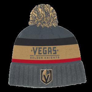 NHL-Tupsupipo Vegas Golden Knights, Adidas Culture Cuffen Knit Pom