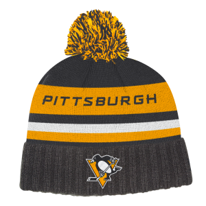 NHL-Tupsupipo Pittsburgh Penguins, Adidas Culture Cuffed Knit Pom